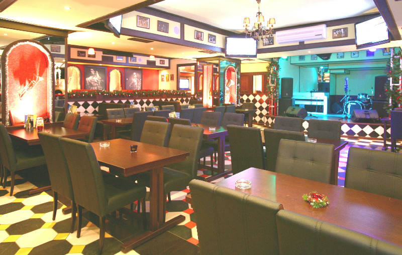 Клуб-ресторан дизайн